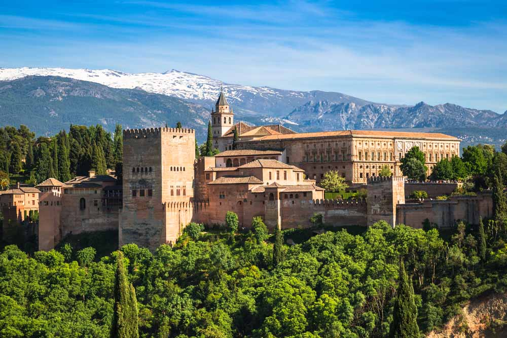 Spain-Alhambra Palace