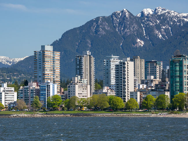 Vancouver Harbour View - British Columbia